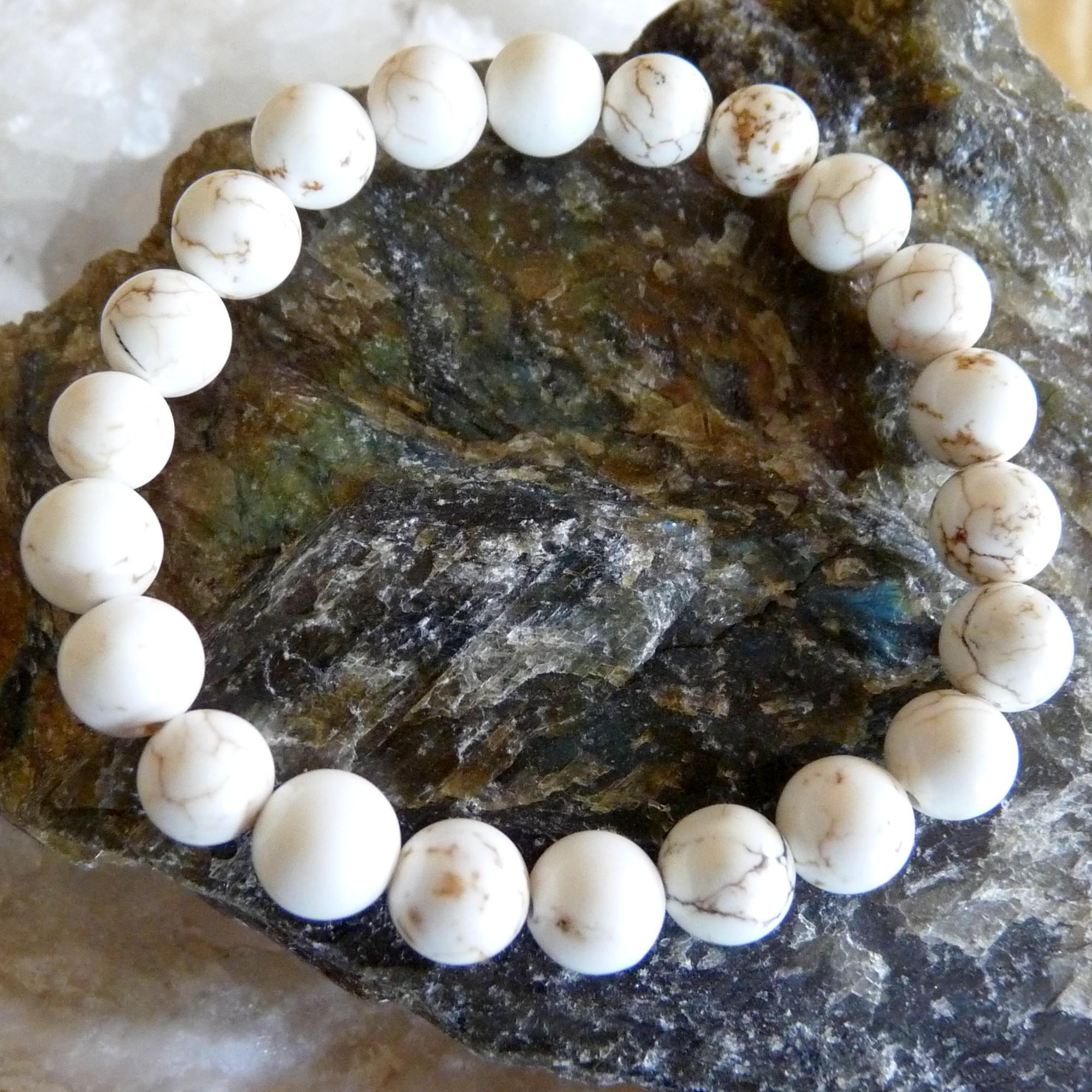 Bracelet en Magnésite